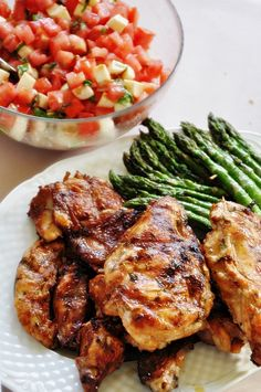 Grill Party, Bbq Grill, Grilling, Main Meals, Tandoori Chicken, Bon Appetit, Tapas, Good Food, Food And Drink