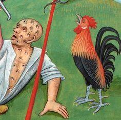 Argus Panoptes. Évrart de Conty, Les Échecs amoureux, France 1496-1498 (BnF, Français 143, fol. 112v)