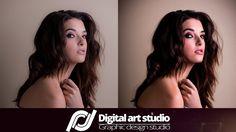 Портретная ретушь | Portrait retouching  (Photoshop SpeedArt)