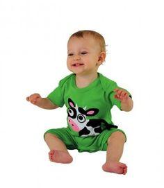 Lipfish   hippe boerderijdieren op je shirt Swedish Design, Baby Boy Fashion, Kids Toys, Cool Outfits, Cows, Children, Green, Fun, Clothes