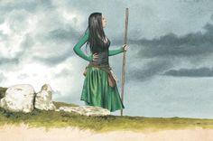 A la recherche de la Mandragore, Lamour  Brucero  L'aspect sobre d'un bustier sur robe courte, avec juste les accessoires qui vont bien