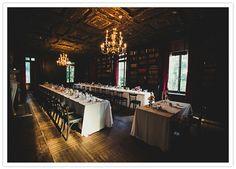 Alder Manor wedding reception...dark & moody