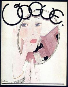 ⍌ Vintage Vogue ⍌ art and illustration for vogue magazine covers - November 1927 Vogue Vintage, Capas Vintage Da Vogue, Vintage Vogue Covers, Art And Illustration, Posters Vintage, Retro Poster, Vogue Magazine Covers, Fashion Magazine Cover, Magazine Art