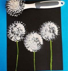 Have a go at DISH BRUSH PAINTING this week. All you need is an old dish brush, some paints & paper. Have a go at making your own water colour paints too: http://www.under5s.co.nz/shop/Hot+Topics/Activities/Things+to+make/Make+your+own+watercolour+paints.html