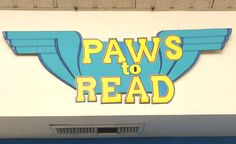 """Summer Reading Program 2014 """"Paws to Read!"""" at Irvine Heritage Park Library."""