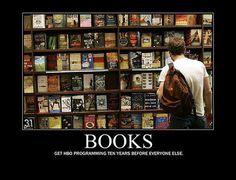 BOOKS: get HBO programming ten years before everyone else
