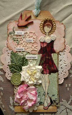 Prima Doll tag - Scrapbook.com