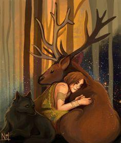The Marauders comforting Remus