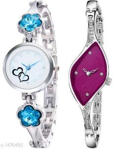 Watches Classy Women's Watch Combo Material: Metal Size: Free Size Type: Analog Description: It Has 2 Pieces Of Women's Watch Country of Origin: India Sizes Available: Free Size   Catalog Rating: ★4 (431)  Catalog Name: Stylish Classy Women's Watches Combo Vol 3 CatalogID_191684 C72-SC1087 Code: 743-1476485-