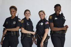 Despite their small statures, these fiery female officers address and fight crimes on a daily basis—maintaining order in difficult situations, determined to make a difference. Description from web.poptower.com. I searched for this on bing.com/images