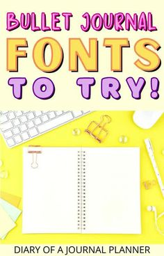 Get creative in your bullet journal with these fantastic font ideas! #fonts #calligraphy Bullet Journal Hand Lettering, Journal Fonts, Bullet Journal Printables, Bullet Journal Themes, Bullet Journal Inspiration, Journal Ideas, Journaling, Hand Lettering For Beginners, Hand Lettering Practice
