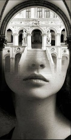 Сюрреалистический портрет-образ Antonio Mora Double Exposure Photography, Dark Photography, Creative Photography, Exposition Photo, Double Exposition, Surreal Photos, Surreal Art, White Art, Black And White
