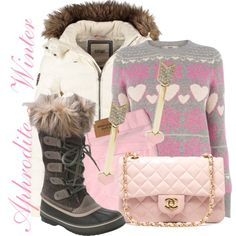 A fashion look from December 2014 featuring gray sweater, white jacket and Abercrombie & Fitch. Browse and shop related looks. Aphrodite, Percy Jackson, Fashion Addict, Grey Sweater, Fashion Backpack, Luxury Fashion, Fashion Looks, Boots, Winter