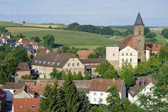 Hornbach Village , a few miles south of Zweibruecken on the German-French border