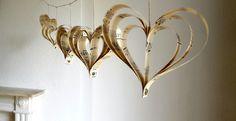 Vintage Wedding Decorations Music Score Heart Garland