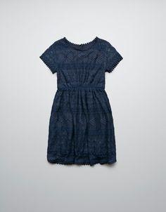 CROCHET DRESS - Dresses - Girl (2-14 years) - Kids - ZARA United States