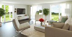 Hier können Sie die Planung der Raumaufteilung sowie von Küche, Bad, Balkon, Bodenbelägen und mehr von Anfang an begleiten - Neubauprojekt Mia Vista der hms Immobilien GmbH & co. KG.