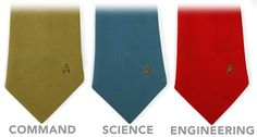 ThinkGeek :: Star Trek Ties