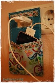 Charger pocket--genius.