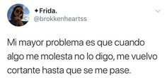 Talvez no sea un problema