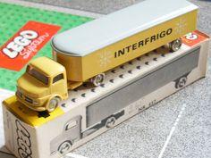 Lego 657 Mercedes InterfrigoVan OVP boxed set 1:87 60er alt old vintage 1960s H0 | eBay