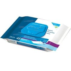 Tena Classic Skin-Caring Washcloths, 7.9x12.5 in., Soft-Pack/48 wipes (2 Packs):   Easy-to-use, one handed dispensing with unfolded washcloths in a new soft pack design which helps to promote infection control. Wipes are alcohol-free and include Dimethico https://tmblr.co/ZRlNZd2N9ukrZ