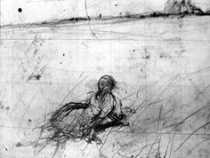 Andrew Wyeth sketch of Christina