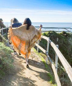 Beachwalk wearing the Kelapa