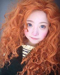 Merida - of : Brave  CN : @小柔SeeU (China)   #Merida #Brave #disneyprincess #小柔 #Anime #cosplay #otaku #Kawaii #cosplayer #manga #Shoujo