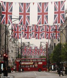 The Queen's Diamond Jubilee, 2012. The Queen's Diamond Jubilee fever abounds in Britain!