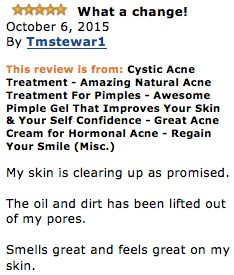 Anti Acne Treatment Gel -  This Acne Cream is produced to FDA standards in our accredited facility right here in the USA!