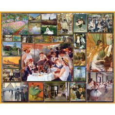 White Mountain Puzzles Jigsaw Puzzle Impressionists