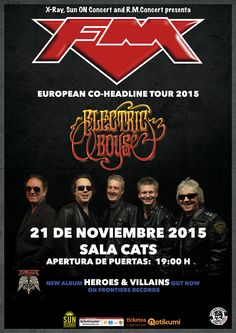 Concierto de FM   Electric Boys en Madrid