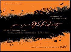 Wonderfully Wicked : Mandarin Orange / @ tiny print