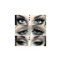 Hair Makeup ❤ liked on Polyvore featuring beauty products, makeup, eye makeup and eyes