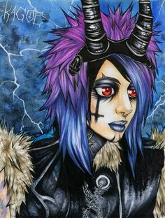 BAD BLOOD by Kagoe.deviantart.com on @deviantART