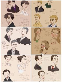 Sherlock - Disney  this would be pretty cool