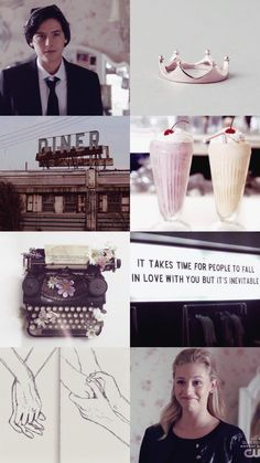 riverdale moodboards: 8/? betty and jughead