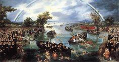 Adriaen van de Venne : Fishing for Souls (Rijksmuseum (Netherlands - Amsterdam)) アドリアーン・ファン・デ・フェンネ Amsterdam, Dutch Republic, Mythology Paintings, Dutch Golden Age, Art Database, Art Reproductions, Art Google, Great Artists, Les Oeuvres