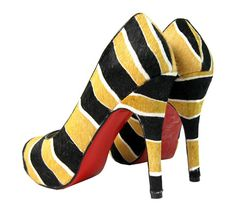 Louboutin for Southern Mississippi!  Go Eagles!
