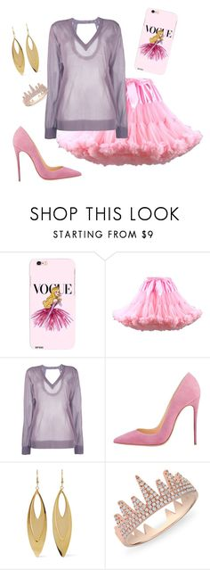 """""""Summer #AOTD"""" by madalynkw on Polyvore featuring Disney, WithChic, Christian Wijnants, Kenneth Jay Lane, Anne Sisteron and summerofdisneystyle"""