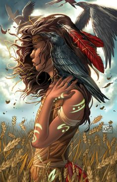 I have several SPAM-FREE Fantasy Art Boards, if anyone is interested in taking a look. :-) (I have no group boards at the moment, but I'm starting to think it might be a good idea!) Legend of Oz Wicked West 3 by `ToolKitten on deviantART 3d Fantasy, Fantasy Kunst, Fantasy World, Fantasy Life, Native Art, Native American Art, American Indians, Warrior Princess, Illustration Art