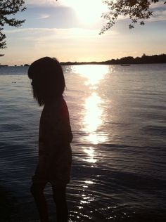 Sunset in an island🌴☀️