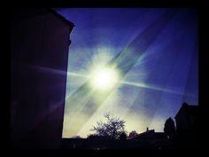 Sun Flare #galaxys4 #13megapixel #sun