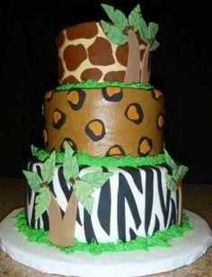 Safari Cake I made