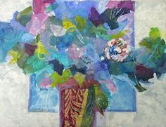 Nancy Standlee Art Blog: Gerald Brommer Workshop ~ Floral Collage ~ Art Journal Pages
