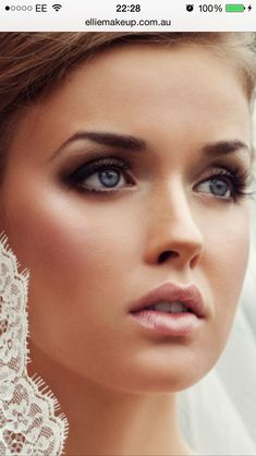 Interesting Bride Makeup Looks