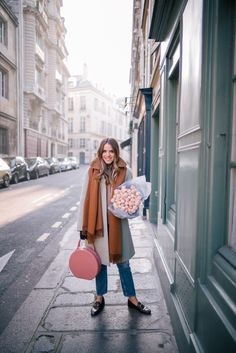 Winter outfit In Paris