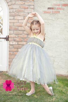 The Grace Flower Girl Dress, Size Large. $135.00, via Etsy.