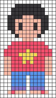 Steven Universe Perler Bead Pattern